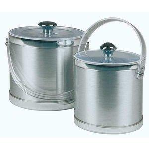 APS Ice bucket Classic Round | Transparent Plastic Cover | Ø15x (H) 15cm