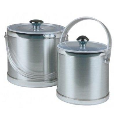 APS Ice bucket Classic Round | Transparent Handle | Ø20x (H) 18cm