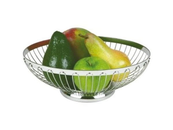APS Fruit and Bread Basket Oval - 245x (H) 180mm