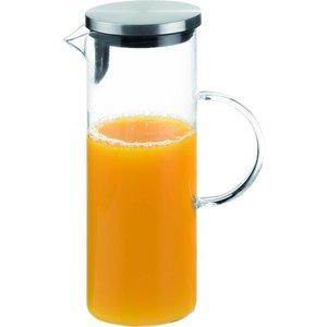 APS Glazen Karaf | 1,5 Liter | RVS dop | Ø9,5x(H)27cm