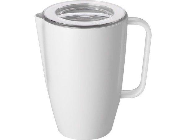 APS Can | 2 Liter | Melamin Weiß | Ø14x (H): 21cm