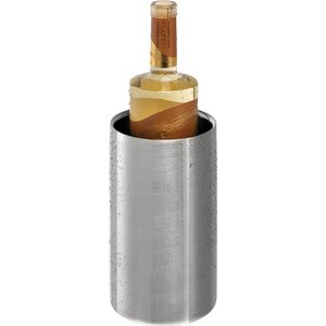 APS RVS Flessenkoeler Dubbelwandig rond - Mat Gepolijst - Ø12cm x 20(h)cm