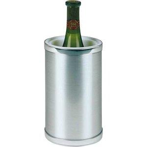 APS Flaschenkühler CLASSIC - Runde mit polierten Kanten - Ø12,5cm x 22 (H) cm