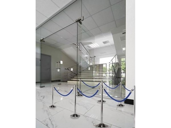 Securit Outlet Cord Chrome Blue Velvet - 1.5 m | DELUXE