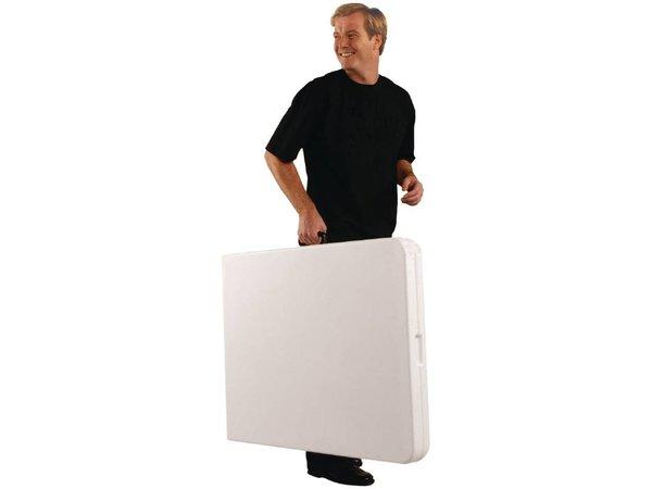 Saro Klapptisch (klappbar in einem Koffer) - Max 100 kg - 72 (h) x183 (b) cm