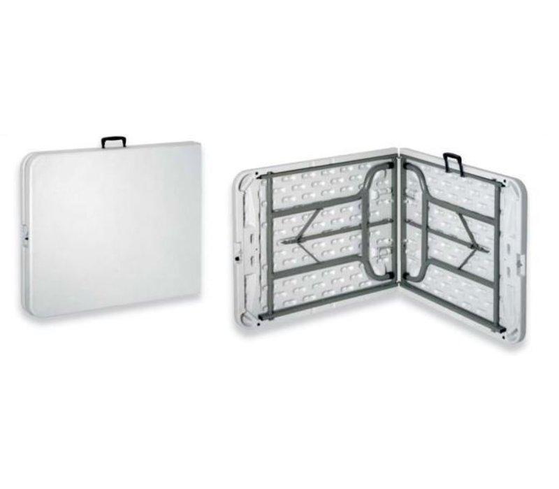 Saro Inklapbare Tafel (inklapbaar tot een koffer) - Max 100 kg - 72(h)x183(b)cm
