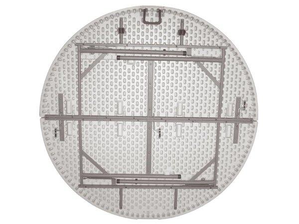 Bolero Folding Round Table Buffet - Vollständig zusammenklappbar Koffer - 76 (H) cm - 153cm ø