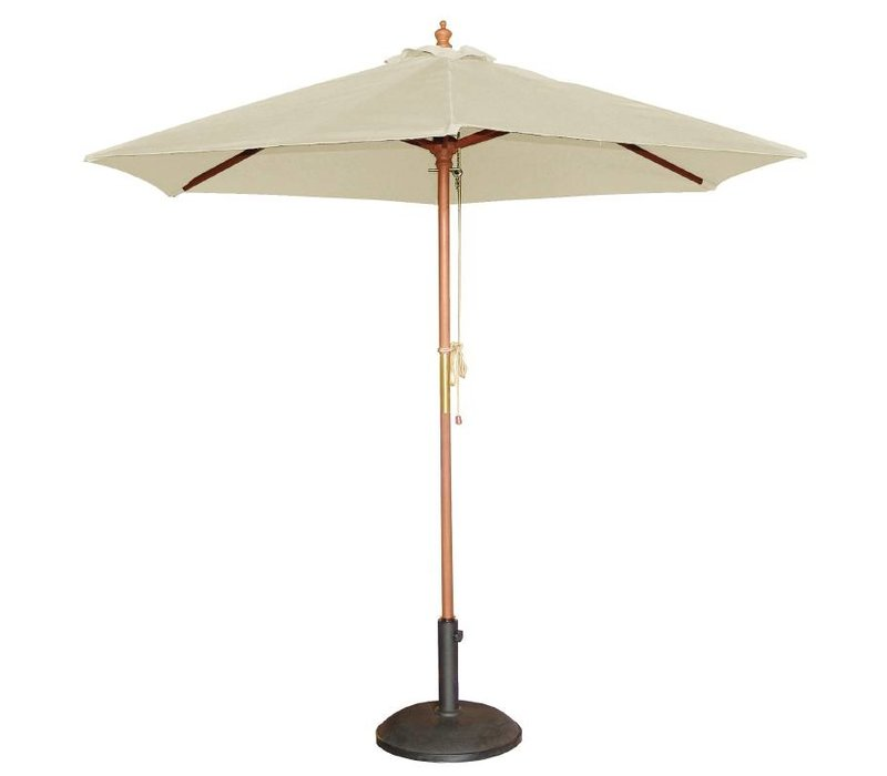 Bolero Parasol base of Concrete - 145 (h) 605 (b) x565 (d) mm - Extra Weighted 32 KG
