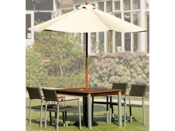 Bolero Sonnenschirmfuß aus Beton - 145 (h) 605 (b) x565 (d) mm - extra gewichtet 32 kg