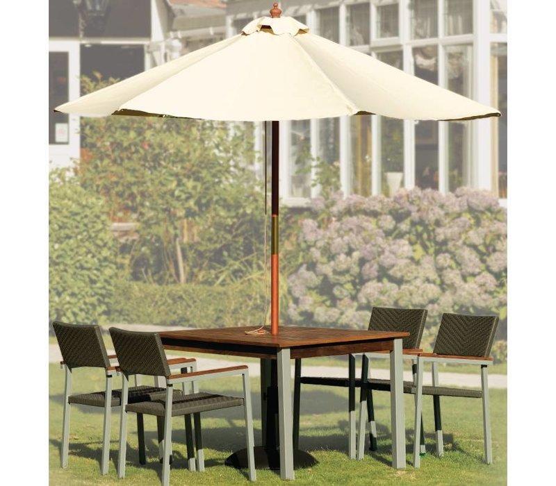 Bolero Schirmständer von Beton - 145 (h) 605 (b) x565 (d) mm - Extra gewichteten 32 KG