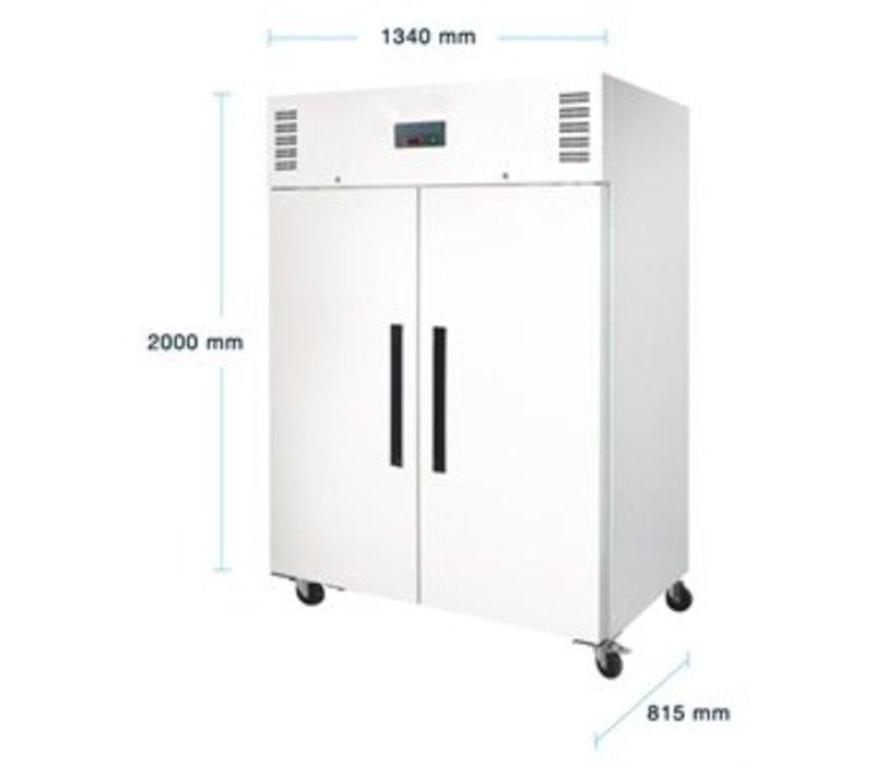 polar doppel horeca k hlschrank 1200 liter 134x81x h 200cm. Black Bedroom Furniture Sets. Home Design Ideas