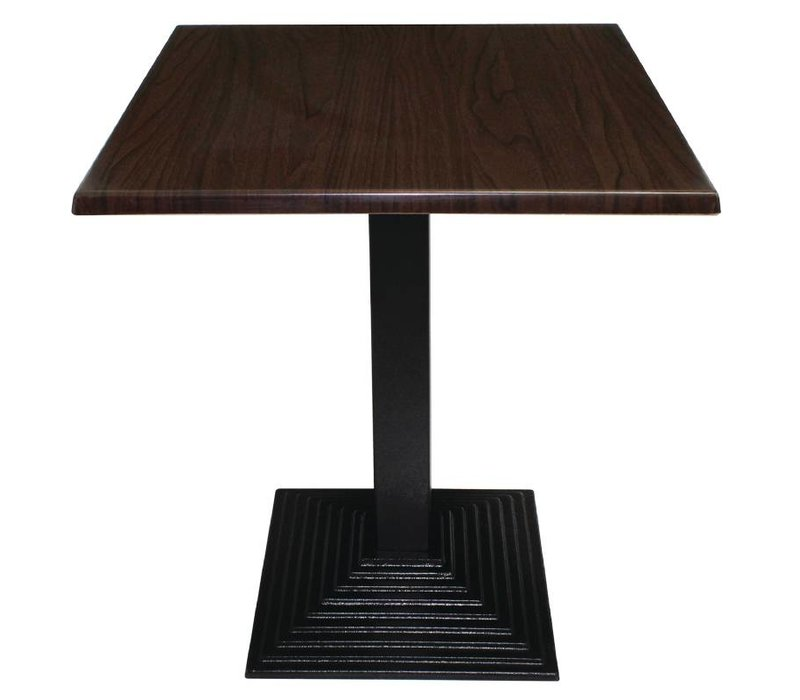 Bolero Table leg Cast - Square - High 72cm - for table tops up to Ø 800mm or (B)
