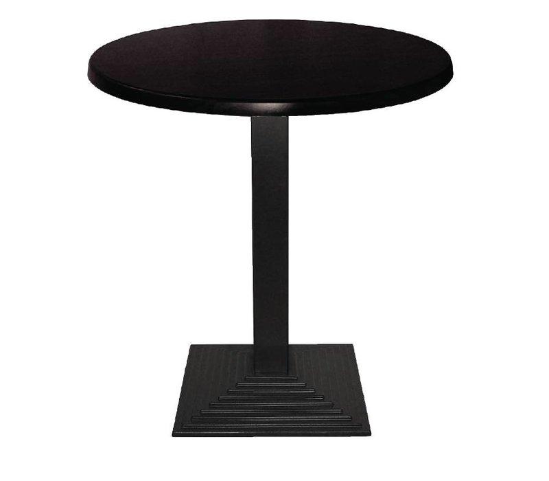 Bolero Tafelpoot Gietijzer - Vierkant - Hoog 72cm - voor tafelbladen tot 800mm Ø of (B)