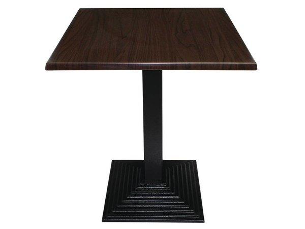 Bolero Tischbein Cast - Square - Low 48cm - für Tischplatten bis Ø 800mm oder (B)