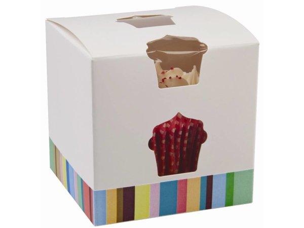 XXLselect Kuchen-Boxen | gerade | 10 Stück | 80x80x (h) 80mm