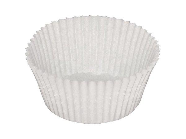 XXLselect Cakebakjes   1000 Stuks   20(h) x 45(Ø)mm   Leverbaar in 2 Afmetingen