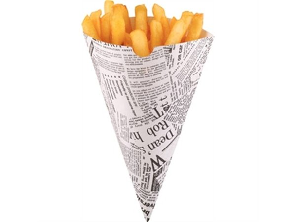 XXLselect Paper bags of Chips / Fries bags | Price per 1000 Pieces | 182x182mm