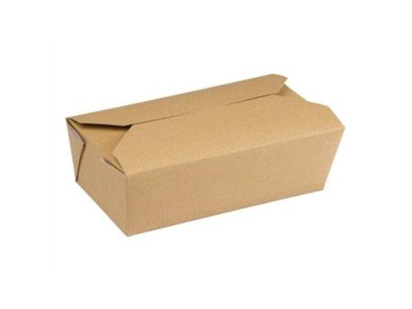 XXLselect Multi Karton Nahrungsmittelkasten Rechteckig | 250 Stück | 185x103x (H) 58 mm