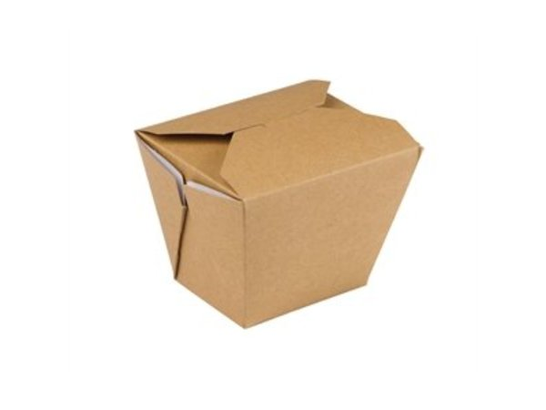 XXLselect Multi Food Box Carton Square | 250 Stück | 118x97x (H) 92 mm