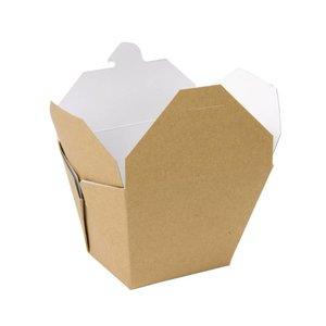 XXLselect Multi Kartonnen Voedseldoos Vierkant | 250 Stuks | 118x97x(h)92mm