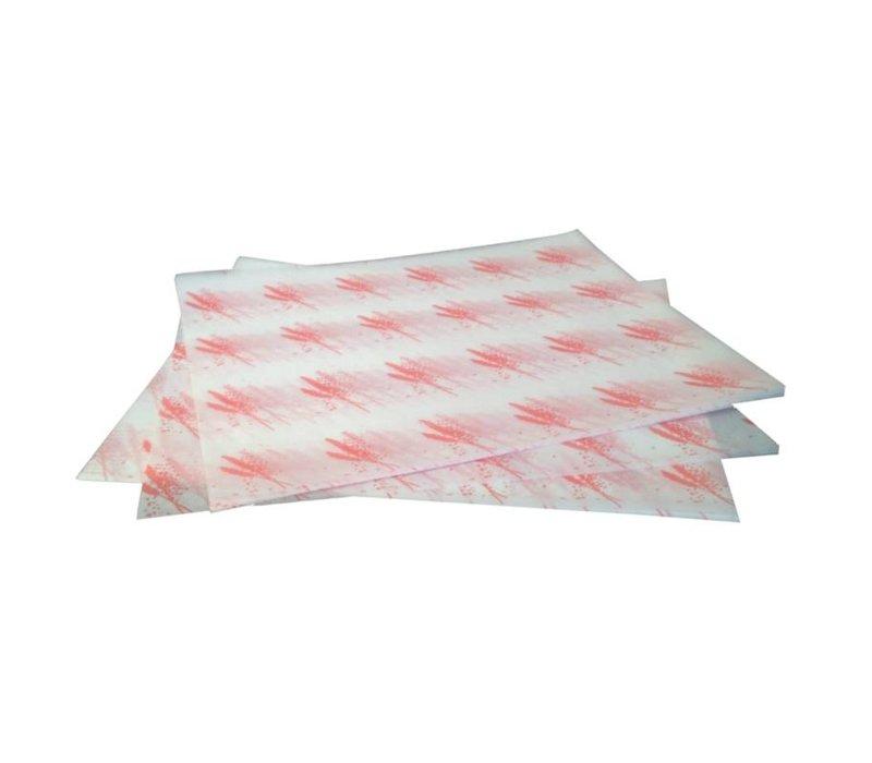 XXLselect Pergamentpapier Hamburger | 1000 Stück | 245x300mm | In 2 Farben erhältlich
