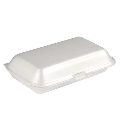 XXLselect Foam Meal Box | 500 Pieces | 145x185x (H) 62mm