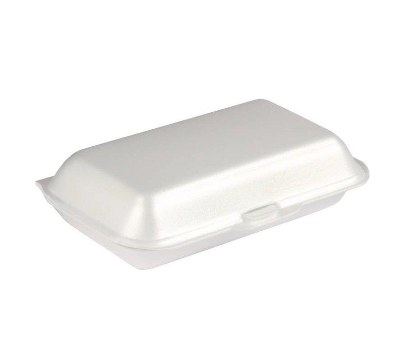 XXLselect Foam Meal Box   500 Pieces   145x185x (H) 62mm