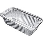 XXLselect Take aluminum bowls 69cl   500 Pieces   201x109x (H) 57mm