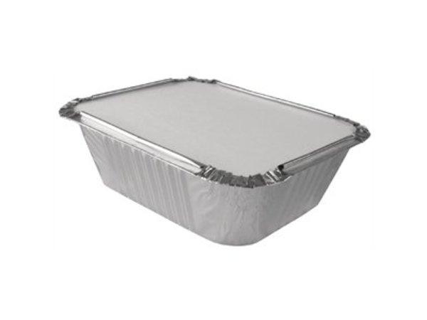 XXLselect Take aluminum bowls 69cl | 500 Pieces | 201x109x (H) 57mm