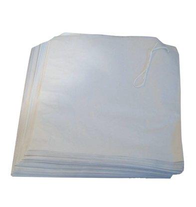 XXLselect White Paper Bags | 1000 Stück | 175x175mm