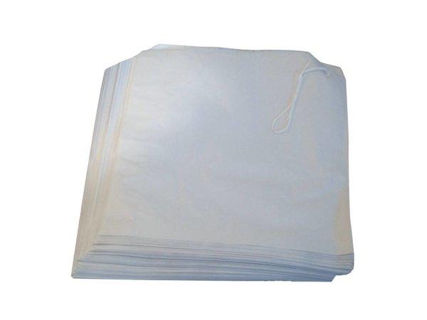 XXLselect White Paper Bags   1000 Stück   175x175mm