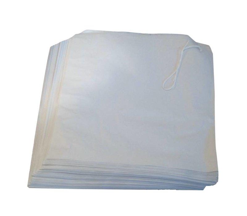 XXLselect Witte Papieren Zakjes | 1000 Stuks | 175x175mm