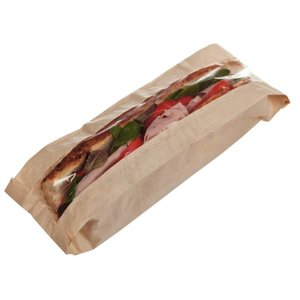 XXLselect Baguette paper bags | Price per 1000 Pieces | 355x150x (H) 100mm