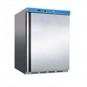 Saro Vrieskast RVS - 60x58x(h)84cm - 120 Liter - 2 jaar garantie