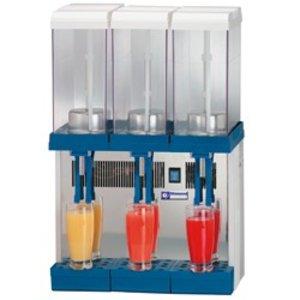 XXLselect Beverage Dispenser 3 x 9 Liter Refrigerated