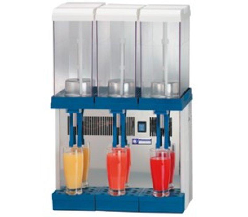 XXLselect Dranken Dispenser 3 x 9 Liter Gekoeld