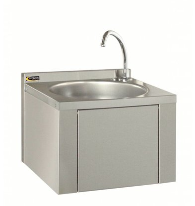 Sofinor Stainless Steel Sink | Knee Operation | For Mixer | Without Rug | 384x353x287mm