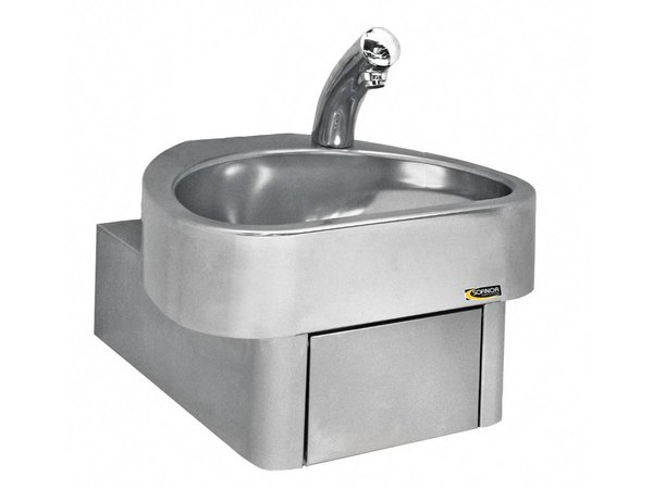 Sofinor Stainless Steel Hand sink   electronic   CLINIUM   460x436x (H) 270 mm