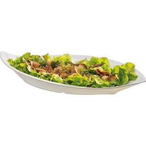 APS Skalieren Leaf | Weiß | 1,5 Liter | Melamin | Stapelbar | 50x23x (H) 7.5cm