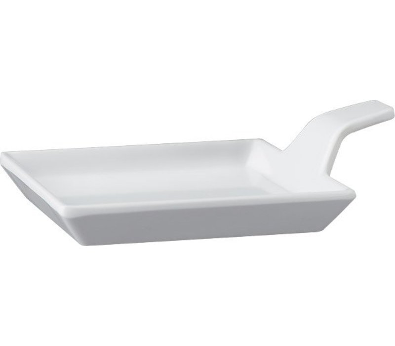 APS Amuse Finger | Weiß | Melamin | 9,5x9,5x (H) 1,5 / 3,5 cm