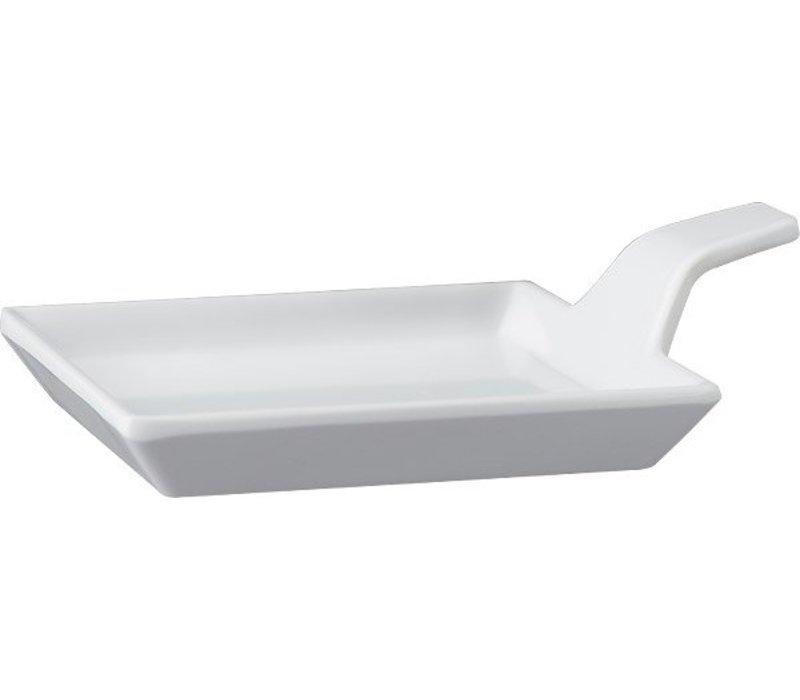 APS Amuse Finger | White | Melamine | 9,5x9,5x (H) 1.5 / 3.5cm