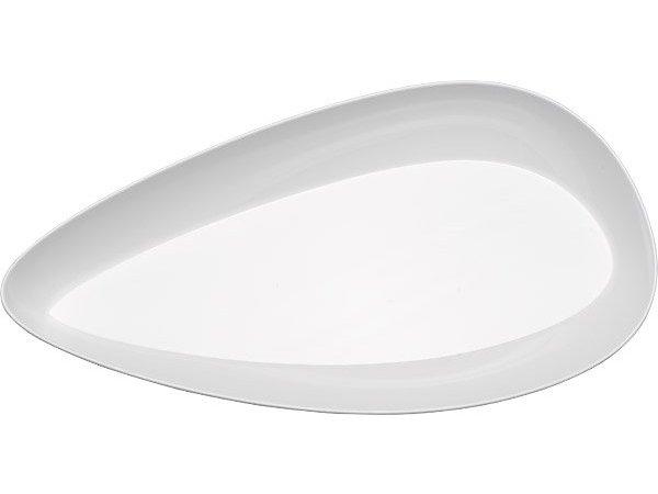 APS Come Organic 3.5 Liter   White   Melamine   Stackable   50x26x (H) 6.5cm