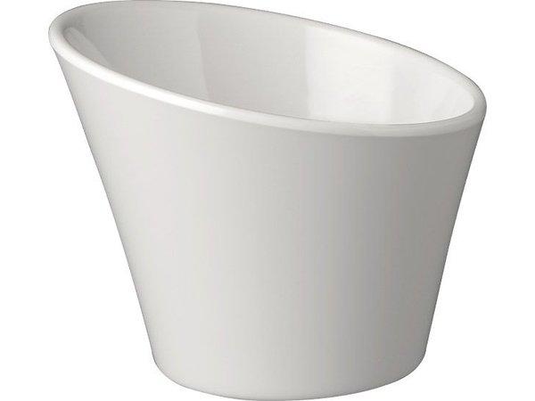 APS Kommen Lässige | 0,3 Liter | Melamin | Stapelbar | Ø12x (H) 7,5 / 9,5 cm