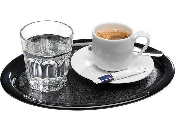 APS Serveer Schotel | Zwart | Melamine | 26x20x(H)1,5cm