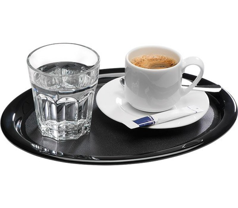 APS Servierplatte | Black | Melamin | 26x20x (H) 1,5 cm