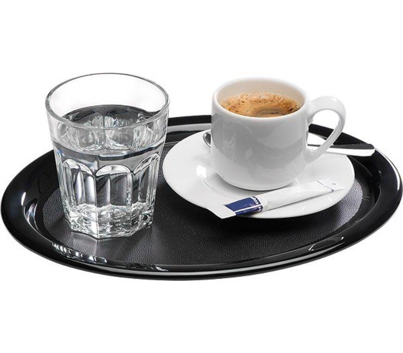 APS Serving Platter | Black | Melamine | 26x20x (H) 1.5cm