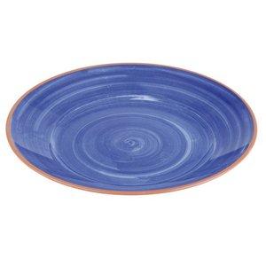APS Schaal La Vida | Blauw | Melamine | Ø32x(H)3,5cm