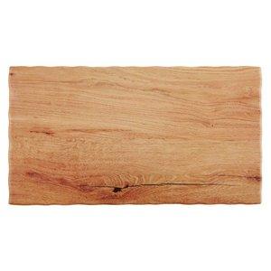 APS Serveerschaal Oak Wood | Beschikbaar in 5 maten GN | Melamine | Stapelbaar | 53x32,5x(H)1,5cm