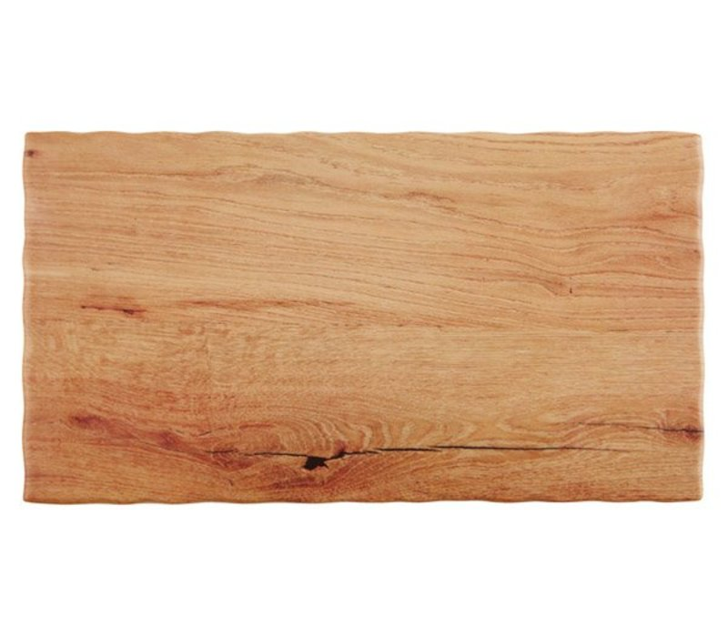 APS Servierplatte Oak Wood   In fünf Größen GN   Melamin   Stapelbar   53x32,5x (H) 1,5 cm