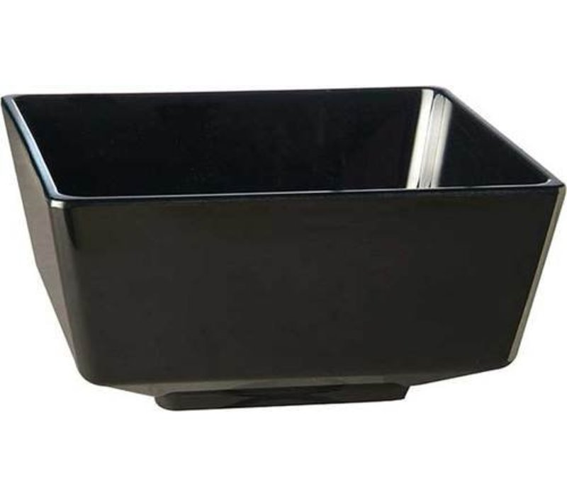 APS Amuse Finger Bowl   Black   Melamine   Stackable   9x9x (H) 4.5cm